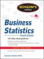 NEW - Schaum's Outline of Business Statistics, Fourth Edition