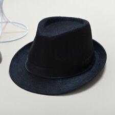 Hat Panama Straw Fedora Trilby Cap Foldable Travel Brim Wide Mens Ladies Summer