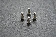 4X Silber  Metallventile Felgenventile Universal 11,3 mm Zustand NEU