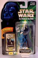 Star Wars The Power of the Force Emperor Palpatine with Force Lightning-1999-NIP