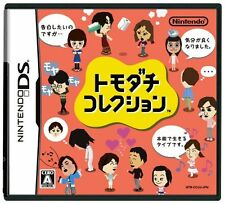 Tomodachi Collection Nintendo DS Japanese ver Game Soft