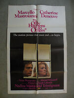 It Only Happens to Others Marcello Mastroianni 1971 27X 41 originial movieposter