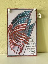 Primitives by Kathy Patriotic Board - Free Shipping