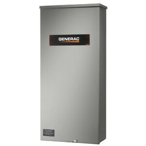 Generac 200 Amp Automatic Transfer Switch Service Rated