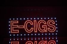"""LED E-CIGS sign Super Bright Size Of 36""""x12"""" Approx"""