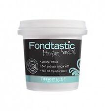 Fondtastic Premium Vanilla Flavoured Fondant Tiffany Blue 225g