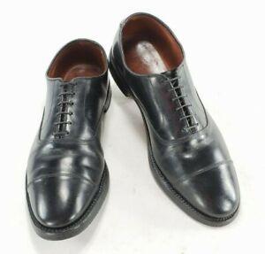 Allen Edmonds Park Avenue 5615 Mens Leather Oxford Cap Toe V Tread Soles Shoes