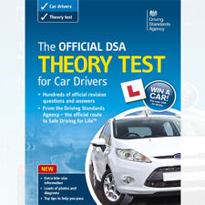 The Official DSA Theory Test for Car Drivers Book 2013 edition NEW BRAND UK