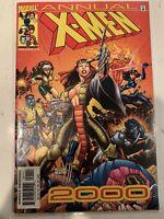 X-Men 2000 Annual Marvel Comics Lady Deathstrike,Wolverine,Colossus