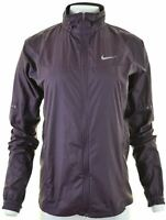 NIKE Womens Over Jacket Size 14 Medium Purple Polyester  EK20
