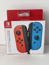 Nintendo Switch Joy-Con Controller Neon Red Neon Blue