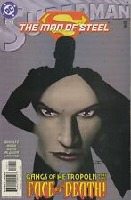 SUPERMAN THE MAN OF STEEL #124 MAY  2002  DC COMIC BOOK