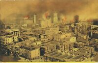 SAN FRANCISCO CA – Panoramic View of The Fire - udb (pre 1908)