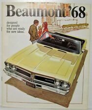 1968 Beaumont Ready for New Ideas Sales Brochure - Canadian