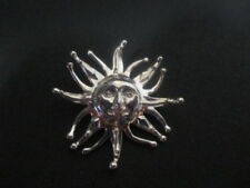 Massive Edelmetall-Anhänger ohne Steine aus echtem Astronomie- & Horoskop-Themen