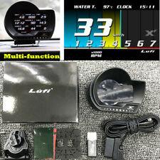 Multi-function OBD2 Speedometer Turbo Boost Pressure Gauge Oil Temperature Alarm