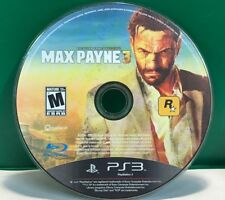 Max Payne 3 (Sony PlayStation 3, 2012) DISC ONLY 13449