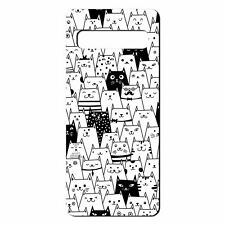 For Samsung Galaxy S10 Silicone Case Cat Pattern - S230