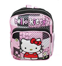 Sanrio Hello Kitty Dot Mini Backpack/School & Book Bag Pink/Black - Kids/Girls