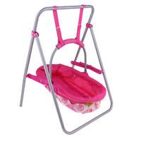 Baby Dolls Crib Model Simulation Furniture Playset Nursery Room Decors