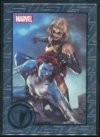 2013 Marvel Greatest Battles Trading Card #78 Ms. Marvel vs. Mystique