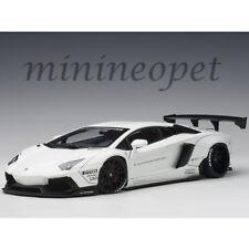 AUTOart 79105 LIBERTY WALK LB WORKS LAMBORGHINI AVENTADOR 1/18 MODEL CAR WHITE