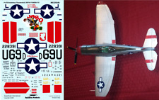 Super Scale 1/32 P-47 Thunderbolt Decal Revell Trumpeter Hasegawa Academy Tamiya