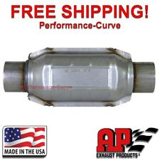 "2.5"" AP Exhaust Catalytic Converter True OBDII - 608416 - Federal Emissions"