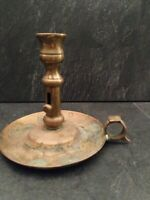 """Candle Holder, Night Lamp, Small , Burnished Brass 5"""""""