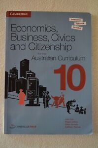 Economics, Business, Civics And Citizenship For The Aust Curriculum 10 Textbook
