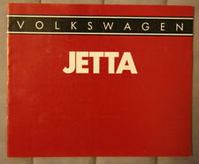 VW VOLKSWAGEN JETTA 1985 dealer brochure - French - Canada - ST1002001117