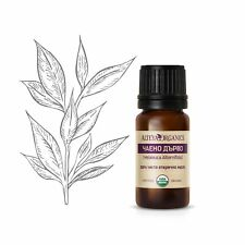 Organic Bulgarian Tea tree Melaleuca essential oil USDA certified 100%pure 10ml.