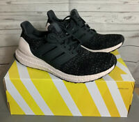 Adidas Womens UltraBOOST 4.0 Running Shoes Black/White/Orchid Size 11 [DB3210]
