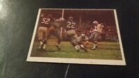 1966 Philadelphia Football #65 Dallas Cowboys Action Card VS NY Giants -  VG-EX
