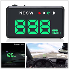 Car F206 HD HUD GPS Head UP Windshield Digital Speed Projector Overspeed Alarm