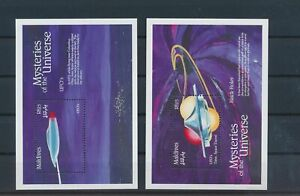 LO43637 Maldives mysteries of the universe sheets MNH