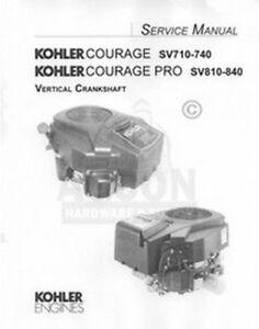 Kohler Courage 20 22 23 24 25 26 27 HP Service Manual