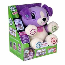My Pal Violet Educational Skill Learning Animal Color Food Number Name Song Toy