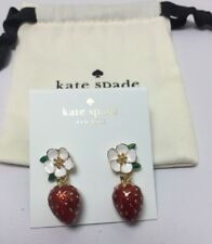 KATE SPADE Picnic Perfect Strawberry Drop Earrings New
