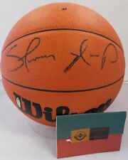 Shawn Kemp Signed NBA Wilson Jet Basketball Upper Deck UDA Authenticated