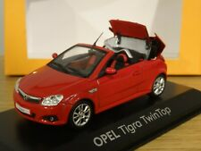MINICHAMPS OPEL TIGRA TWINTOP (VAUXHALL) RED CAR MODEL 9163176 1:43
