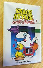 sealed Snack Attack & Friends by Funtastic 3 games Apple II+,IIe,IIc,IIgs pacman