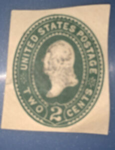 Embossed   ---1887-94  TWO CENTS  Envelope U.S. Stamps.