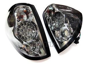 TAIL REAR LED LIGHT LAMP SMOKE BLACK LENS MITSUBISHI L200 TRITON ML MN 2005 - 14