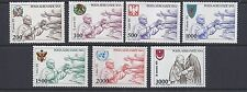 VATICAN 1980 POPE JOHN PAUL II (Sc C66-72) VF MNH