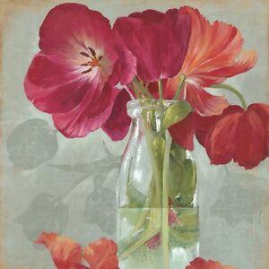 Flower Canvas Prints Modern Home Decor Flower Wall Art Picture Poppy UNFRAMED