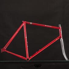 Used De Rosa Professional Columbus Steel Frameset Circa 80's size 60cm RED