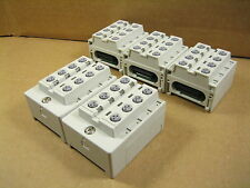 SMC EX500-IE5 8-Point Integrated Type Input Box (Lot of 5)