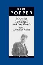 Die offene Gesellschaft und ihre Feinde I. Studienausgabe von Karl R. Popper NEU