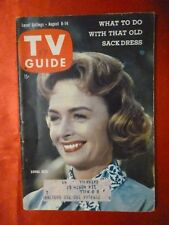 New York State August8 TV GUIDE 1959 DONNA REED Roy Rogers Gene Autry Diane Ladd